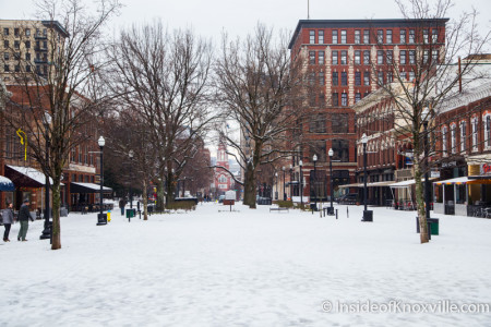Market Square, Knoxville, February 2015