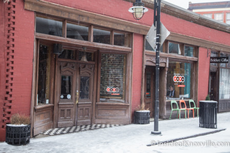 Old City Java, Knoxville, February 2015