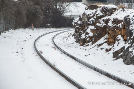Railway, Knoxville, February 2015