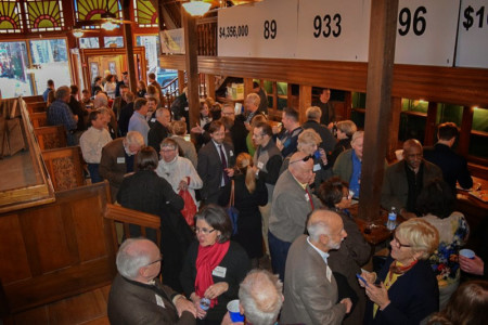 Reception for Wayne Blasius, Patrick Sullivan Bldg., Knoxville, January 2015