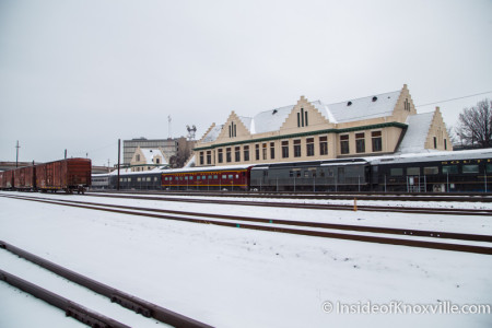 Southern Railway Station and Depot, Knoxville, February 2015