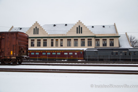 Southern Railway Station, Knoxville, February 2015