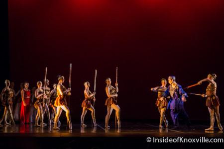 Tata Ajache: Warrior Princess, Go! Contemporary Dance Works, Knoxville, February 2015