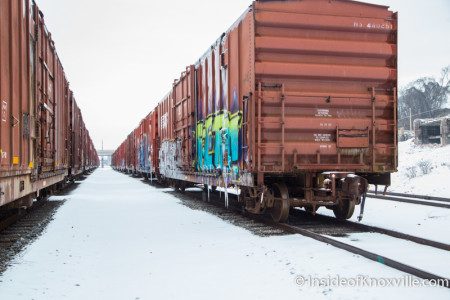 Train Yard, Knoxville, February 2015
