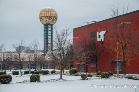 UT Conference Center and Sunsphere, Knoxville, February 2015