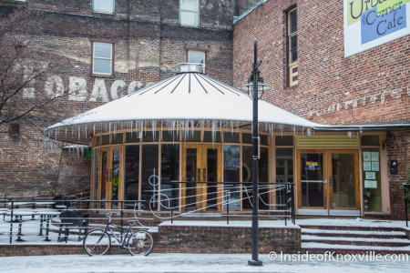 Urban Bar and Corner Cafe, Knoxville, February 2015