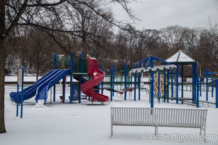 World's Fair Park Playground, Knoxville, February 2015