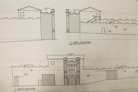 Facade Plans, Shulz Brau Brewing Company, 126 Bernard, Knoxville