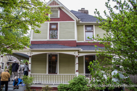Epiphany Rectory (1891), 813 Deery Street, Fourth and Gill Tour of Homes, Knoxville, April 2015