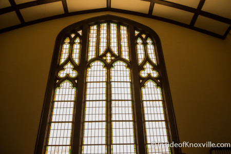 Central United Methodist Church, 201 E. Third Ave., Fourth and Gill Tour of Homes, Knoxville, April 2015