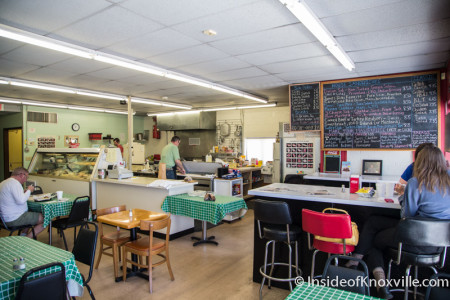 Frussie's Deli and Sandwich Shoppe, 133 Moody Avenue, Knoxville, April 2015