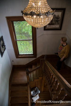 Hellner-Henry House, 933 Luttrell St., Fourth and Gill Tour of Homes, Knoxville, April 2015