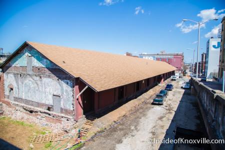 Jackson Terminal Project, 205 W. Jackson, Knoxville, April 2015