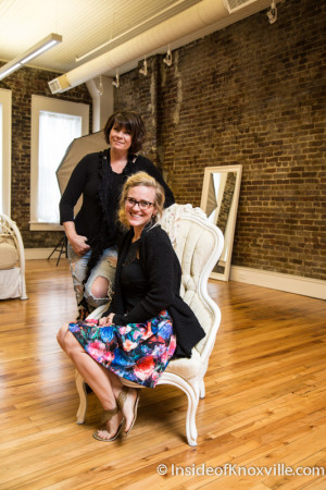 Marie and Ash Kamp, Red Door Photography, 34 Market Square, Knoxville, April 2015