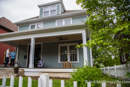 New Epiphany Rectory, 906 Luttrell St., Fourth and Gill Tour of Homes, Knoxville, April 2015