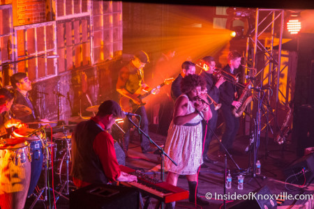 The Suffers, Rhythm n Blooms, Knoxville, April 2015