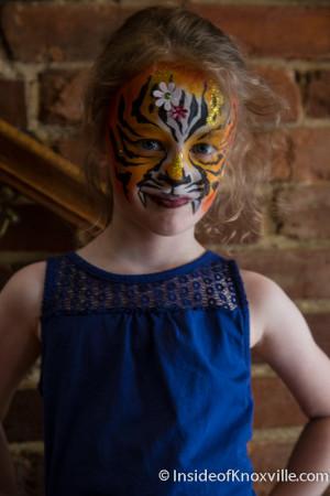 Urban Tiger Girl, Dogwood Arts on Market Square, Knoxville, April 2015
