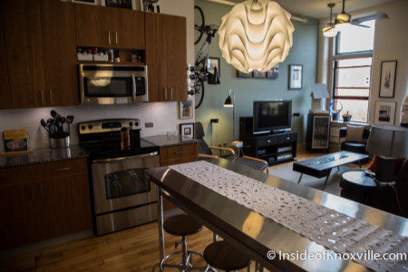 City People Home Tour, Arnstein Bldg, 505 Market Street, Knoxville, May 2015-1