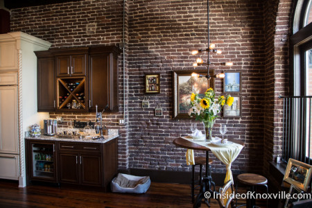 City People Home Tour, Commerce Lofts, 122 S. Gay St., Knoxville, May 2015