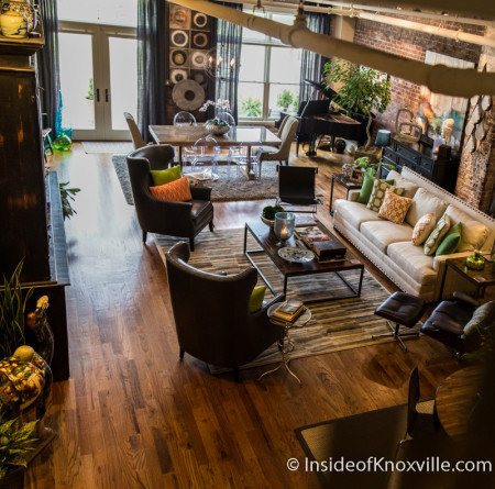 City People Home Tour, Gallery Lofts, 402 South Gay Street, Knoxville, May 2015