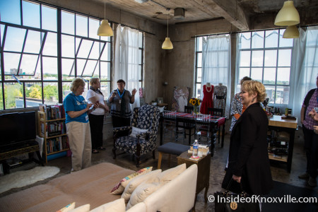 City People Home Tour, JFG Flats, 200 W. Jackson Ave., Knoxville, May 2015
