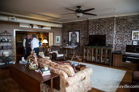 City People Home Tour, Phoenix Bldg., 418 S. Gay Street., Knoxville, May 2015