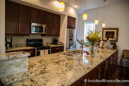 City People Home Tour, Sandstone Court, 414 Clinch Avenue, Knoxville, May 2015