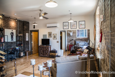 City People Home Tour, White Lily Flats, 222 N. Central St., Knoxville, May 2015