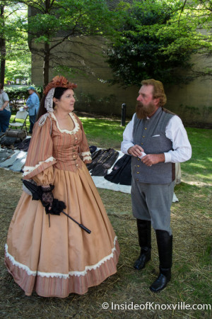 Civil War Sesquicentennial Event, Blue and Gray Reunion and Freedom Jubilee, Knoxville, May 2015