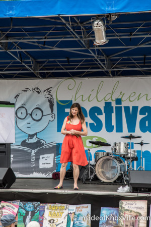 Debbie Dadey, Children's Festival of Reading, Knoxville, May 2015