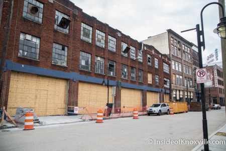 John H. Daniel Building, Jackson Avenue, Spring 2015