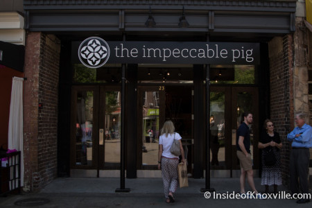 The Impeccable Pig, 23 Market Square, Knoxville, Spring 2015