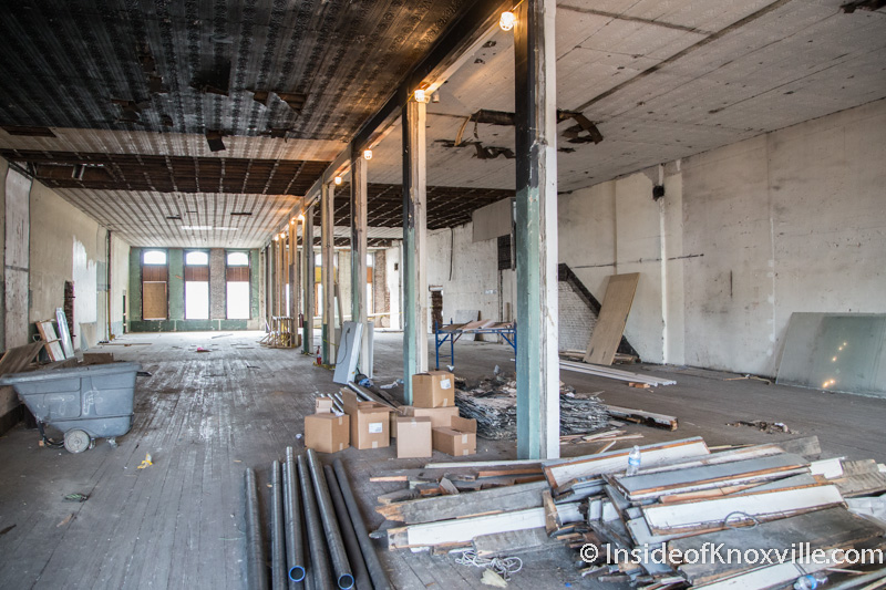 Plans and a Look Inside the John H. Daniel Building
