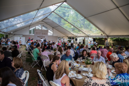 Blackberry Farms Brunch, International Biscuit Festival, Knoxville, May 2015