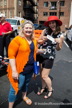Happily Waiting for the Big Nasty, International Biscuit Festival, Knoxville, May 2015