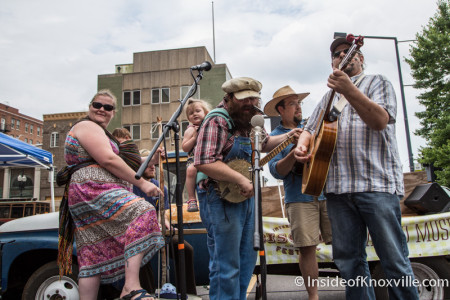 Knox County Jug Stompers, International Biscuit Festival, Knoxville, May 2015
