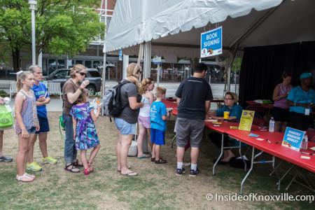 Kimberly Brubaker Bradley, Children's Festival of Reading, Knoxville, May 2015