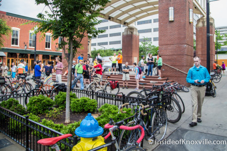 National Bike to Work Day, Knoxville, May 2015