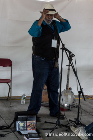 Sparky Rucker, Children's Festival of Reading, Knoxville, May 2015