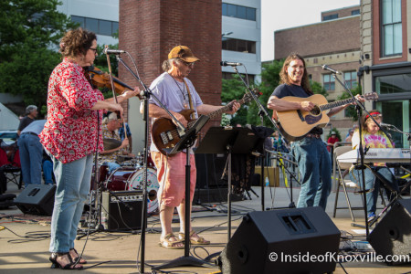 Exit 65, Bob Dylan Birthday Bash, Market Square, Knoxville, June 2015