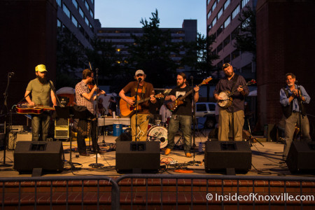 Dixieghost, Bob Dylan Birthday Bash, Market Square, Knoxville, June 2015