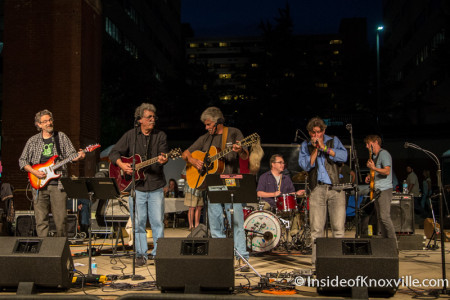 Steve Horton and Friends, Bob Dylan Birthday Bash, Market Square, Knoxville, June 2015