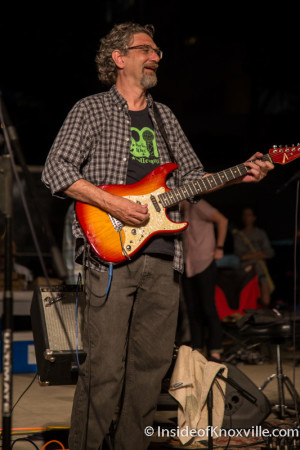 Hector Qirko, Bob Dylan Birthday Bash, Market Square, Knoxville, June 2015