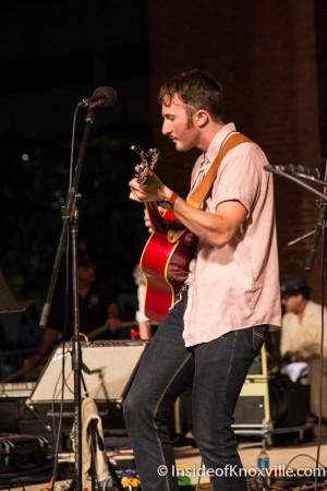 Will Horton, Bob Dylan Birthday Bash, Market Square, Knoxville, June 2015