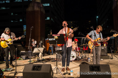 Will Horton and Friends, Bob Dylan Birthday Bash, Market Square, Knoxville, June 2015