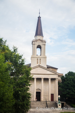 First Baptist Church, 510 W. Main St., Knoxville, June 2015
