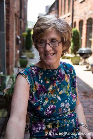 Author Pamela Schoenewaldt, Knoxville, May 2015