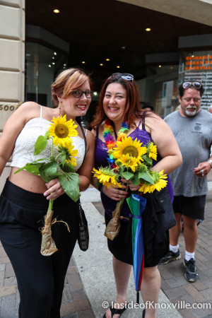 Pridefest Parade 2015, Gay Street, Knoxville, June 2015