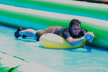 Slide the City, Church Street, Knoxville, June 2015