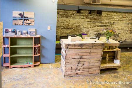 The Basement Community Art Studio, 105 W. Jackson, Knoxville, June 2015